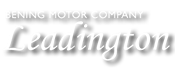 Logo - Bening Motor Company in Leadington
